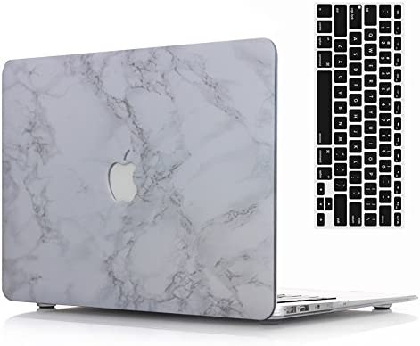 1518b0c2d9c5 MacBook Pro Retina 15''' Case and Keyboard Cover,AICOO Marble Hard Case  Cover with Keyboard Protector for Laptop Apple MacBook Pro Retina 15.4 inch  ...