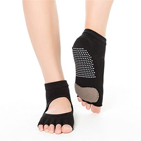 Yoga Calcetines 3pas de las mujeres sin dedos sin espalda ...