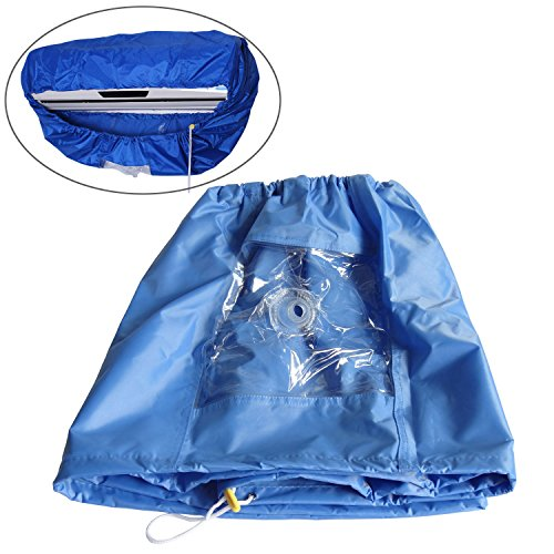 plum-grden-blue-air-conditioner-pu-cleaning-dust-washing-cover-clean-waterproof-protector