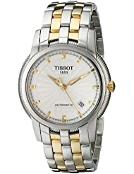Tissot Mens T97248331 T-Ring Two-Tone Bracelet Watch