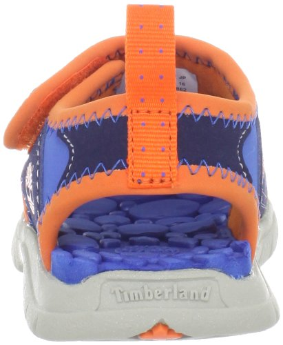 Timberland Royal Sandales Harbor Toe Navy mixte Orange enfant Closed Little wUqgCwH