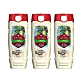 Old Spice Fresher Collection Fiji Scent Men's Body Wash 16 Oz (Pack of 3)
