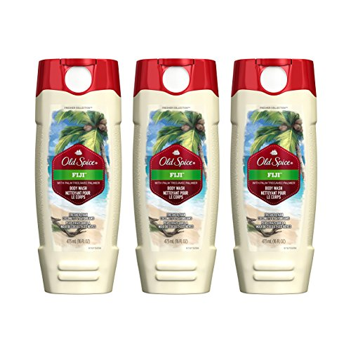 Old Spice Fresher Collection Fiji Scent Men's Body Wash 16 Oz (Pack of 3) ()