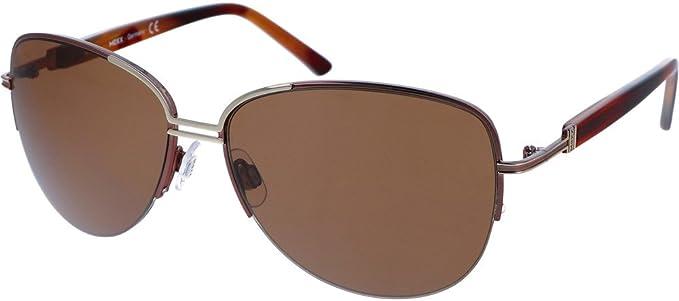 Mexx Metall Sonnenbrille 6294 200: : Bekleidung