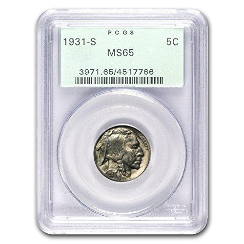 1931 S Buffalo Nickel MS-65 PCGS Nickel MS-65 PCGS