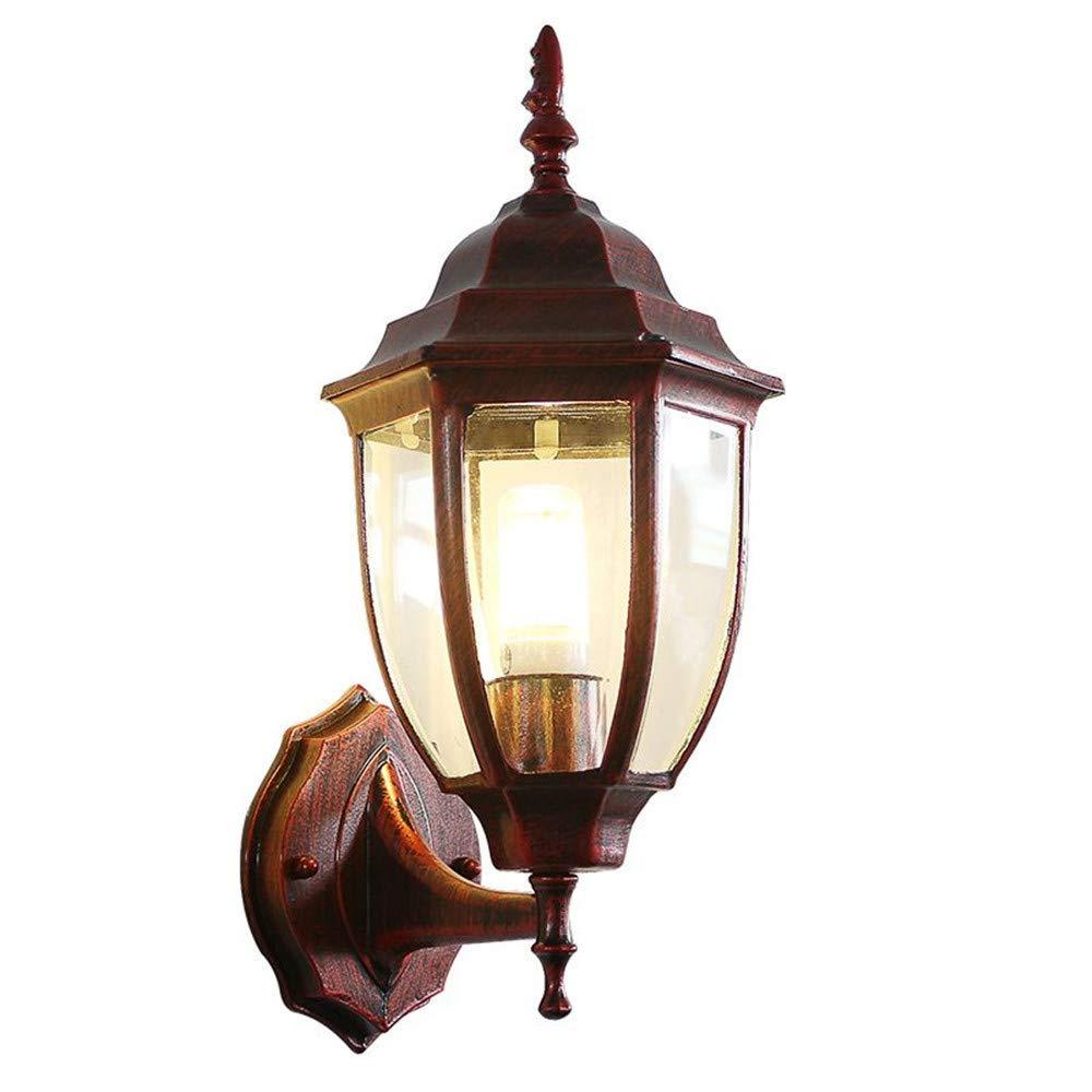 HRCxue Außenwandleuchten Wasserdichte Wandlampe des Europäischen Gangs Retro- Korridor-Treppenbalkonlampe der im Freien Wandlampe hängenden Lampe LED-Lampen Anti-Rost, KorrosionsBesteändigkeit