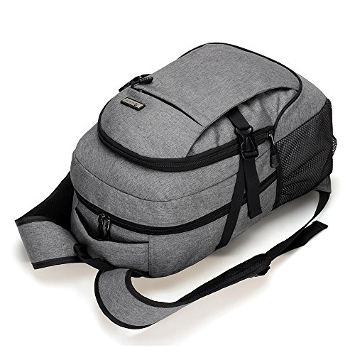 Strong USB Port Laptop Backpack Rucksack bis 15.6 zoll Notebooks wasserabweisend (Violett) Blau