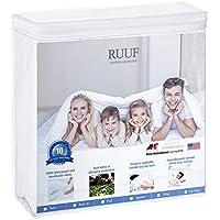RUUF Queen Size Mattress Protector, Premium...