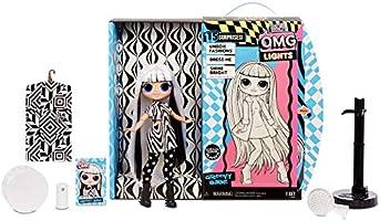 Amazon.es: L.O.L. Surprise! Muñecas de Moda Coleccionables - con 15 Sorpresas, Ropa y Accesorios - Groovy Babe - Serie O.M.G. Lights: Juguetes y juegos