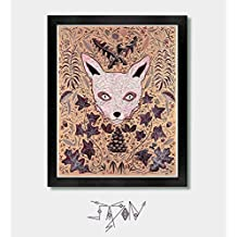 All The Little Things - Fox, Foxes, Fox Art, Fox Prints, Woodland Decor, Wolf Art, Wolf Prints, Wolf, Oregon, Washington, Forest, Japanese, Boho, Nature, Seattle, East Coast
