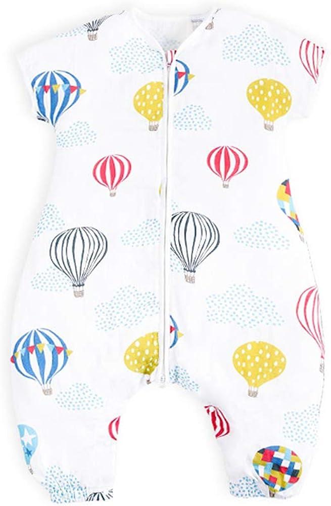 i-baby Saco de Dormir Bebé con Pies Verano Infantil Pijama Manta con Mangas Cortas Algodón Gasa Niños Cómodo Transpirable (Flying Dream, 2-4 Años): Amazon.es: Ropa y accesorios