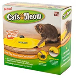 Cat\'S Meow Cat Toy Boxed