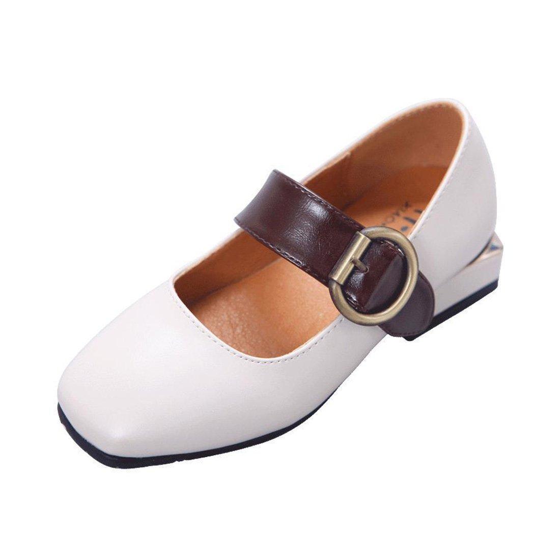 YIBLBOX Kids Girls Ballet Flats Shoes Mary Janes Wedding Party Princess Dress Toddler Shoes