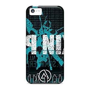 Shock Absorption Hard Cell-phone Cases For Iphone 5c (scn6218JSbV) Provide Private Custom Vivid Linkin Park Pictures