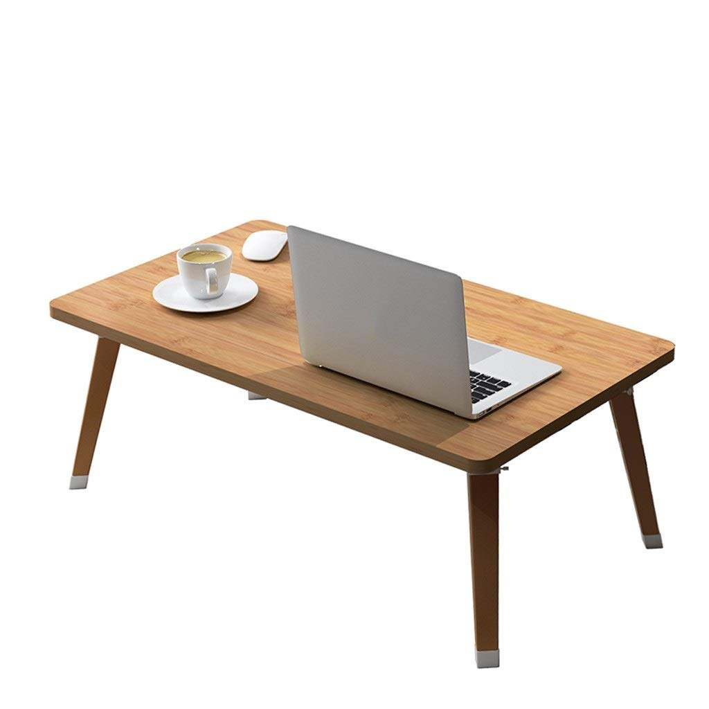 Folding Laptop Table Lapdesk Breakfast Bed Serving Tray Portable Mini Picnic Desk Notebook Hand Stand Reading Holder for Couch by HD-Table & Chair Sets