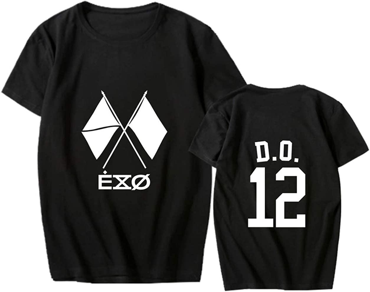 ACEFAST INC Kpop EXO Shirt Obsession T Shirt Baekhyun Kai Suho Xiumin Chanyeol D.O T-Shirt Tops