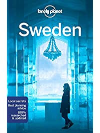 Amazoncom Sweden Europe Books Stockholm More - Sweden map lonely planet