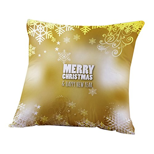 Nation Pillow Case Clearance ♥ Xmas Christmas Sofa Bed Home Decoration Festival Cushion Cover (Z) (Christmas Decorations Clearance Online)