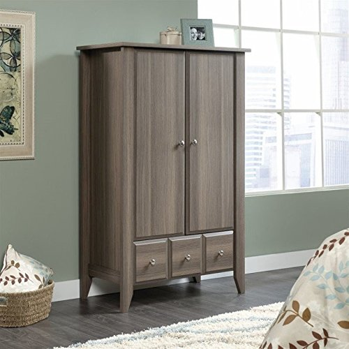 Sauder Shoal Creek Armoire in Diamond Ash by Sauder