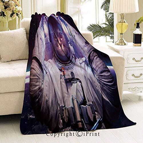 RWNFA Soft Flannel Fleece All Season Blanket,Living Room/Bedroom Warm Blanket,32