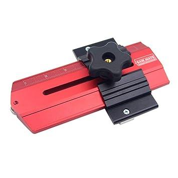 Plantilla de sierra de mesa de corte fino, herramienta de guía de ...