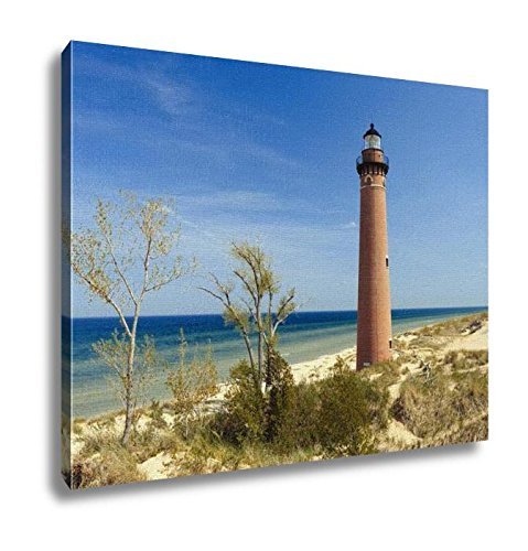 Little Sable Point Lighthouse (Ashley Canvas, Little Sable Point Lighthouse In Dunes Built In 1867 Lake Michigan Mi USA, 20x25, AG6252946)