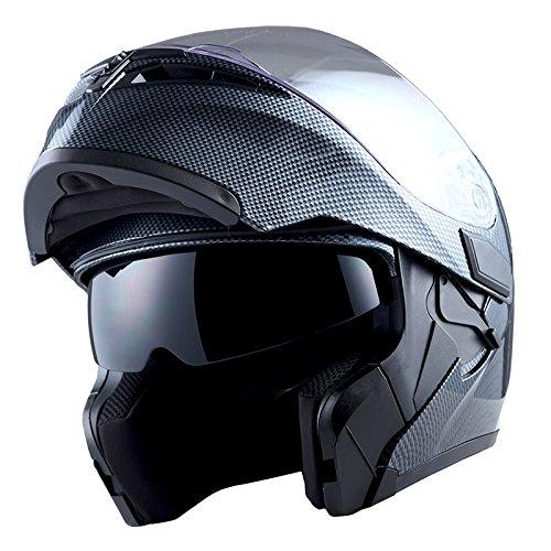 Storm Motorcycle Modular Full-Face Helmet