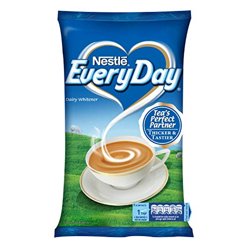 Nestle Everyday Dairy Whitener, 400g Pouch + Nestlé NesPlus Breakfast Cereal – Crunchy Flakes with Corn & Oats, 475g…