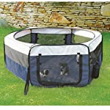 Soft Sided Mobile Play Pet Pen Size: Small (15.5'' H x 35.25'' W x 35.25'' L)