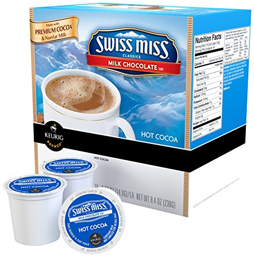 [Swiss Miss Milk Chocolate Hot Cocoa K-cups (44-pack)] (Keurig Hot Cocoa)