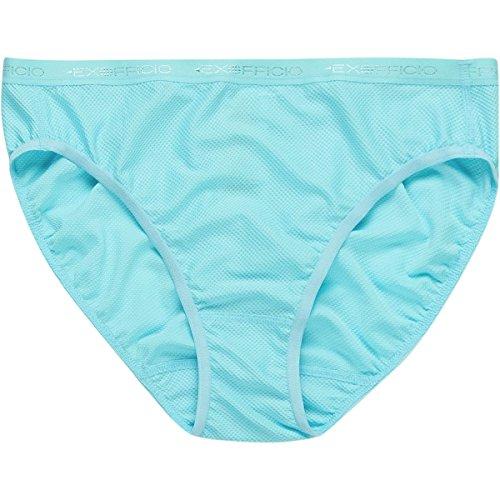 ExOfficio Give-N-Go Bikini Brief - Women's Blue Ice, (Ex Officio Give N Go Bikini Brief Apparel)