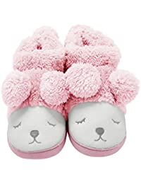 1affcfd2430 Warm Indoor Slippers Women Fleece Plush Bedroom House Shoes Non Slip Winter  Boots