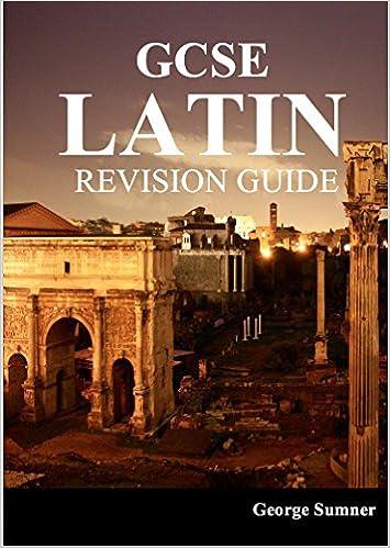Ocr gcse latin revision guide: amazon. Co. Uk: george sumner: books.