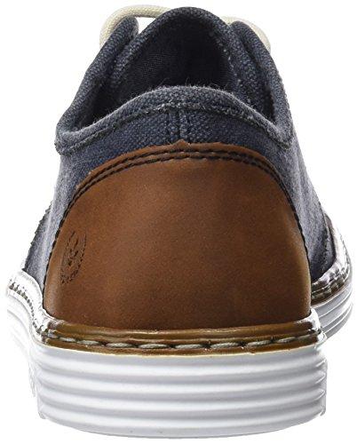 40 Homme nuss Rieker navy Sneakers Basses nuss Eu Bleu Navy B4932 nStwtfvqY