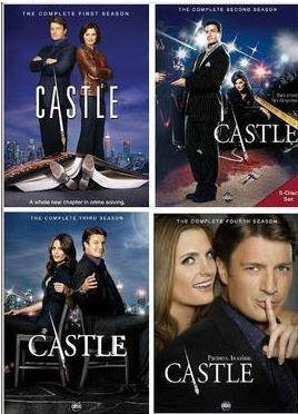 Castle Seasons 1-4 Bundle
