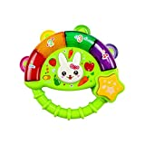 Blancho Bedding Musical Electric Baby Toys Hand Drum Instrument Percussion Set for Children,Green