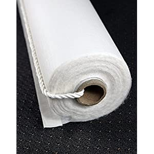 Wayhome Fair Aisle Runner, 150 ft Poly Linen White - Excellent Home Decor - Indoor & Outdoor 40