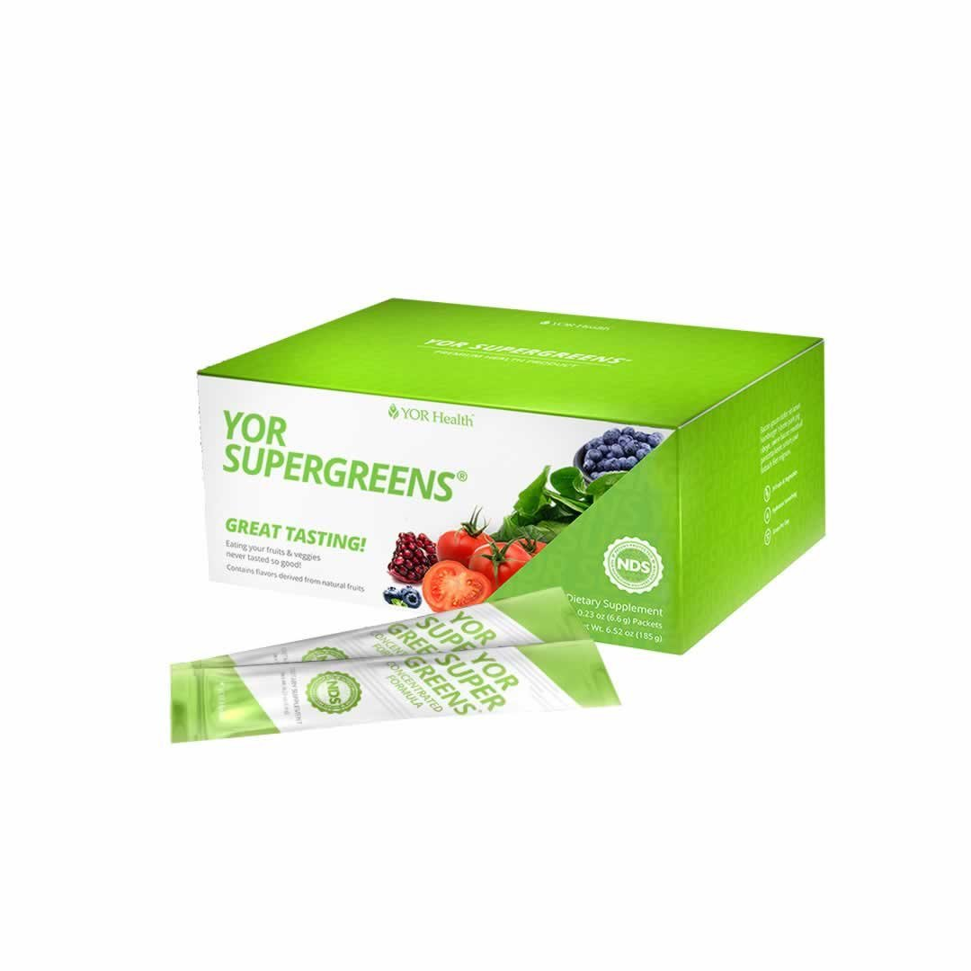 YOR Health Supergreen Formula Individual Packs