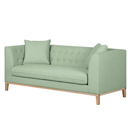Eterno 3 Seater Sofa In Pastel Green Colour