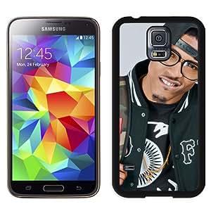 Unique Galaxy S5 Case,Durable I9600 Case Design with August Alsina 2 Samsung Galaxy S5 SV I9600 Black Case