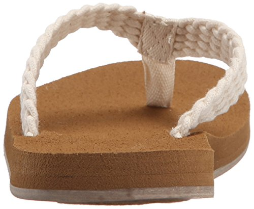 Roxy mujer Porto sandalias flip-flop Crema