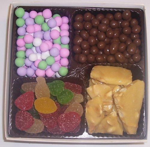 Scott's Cakes Large 4-Pack Pectin Fruit Gels, Peanut Brittle, Chocolate Peanuts, & Chocolate Dutch Mints