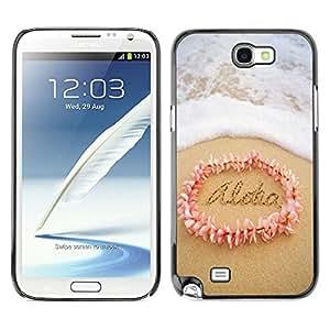 Dragon Case - FOR Samsung Note 2 N7100 - Truth never fears investigation - Caja protectora de pl??stico duro de la cubierta Dise?¡Ào Slim Fit