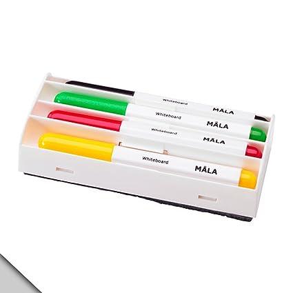 IKEA - Marcapáginas de madera blanca, varios colores (2 ...