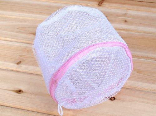 Zipped Laundry Washing Bag Mesh Net Underwear Bra Clothes Socks Storage Bag