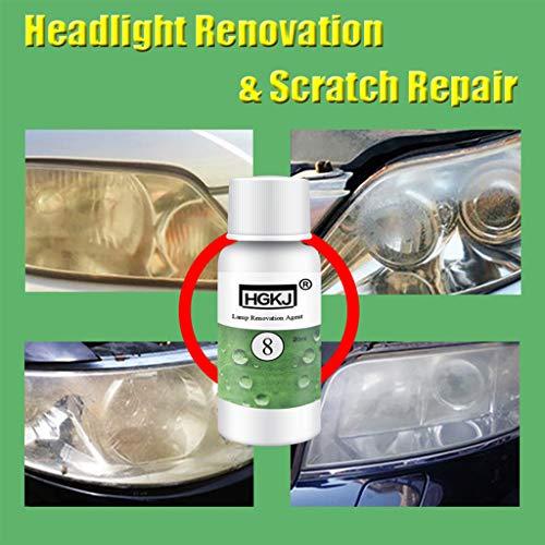 BOying HGKJ-8 Car Headlight Repair Refurbishment Fluid, Car Paint Scratch  Repair Decontamination Solution for Car Taillight Cleaning Restoration Kit