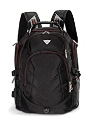 17-18.4 Inch Laptop Backpack,FreeBiz Travel Bag Hiking Knapsack Rucksack Backpack School College Student Shoulder Back Pack for 17,17.3,18,18.4 Inch Dell Asus Msi Hp Laptop/Notebook/Computer