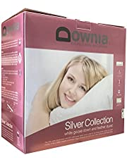 Downia Silver Collection Goose Down and Feather Quilt/Doona/Duvet (Queen)