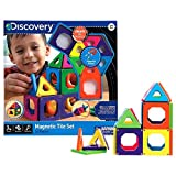 Discovery magnetic tile set