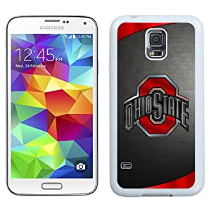 Cool Designed Samsung Galaxy S5 Screen Case Ncaa Big Ten Conference Football Ohio State Buckeyes 41 Protective Cell Phone Hardshell Cover Case For Samsung Galaxy S5 I9600 G900a G900v G900p G900t G900w White Phone Case